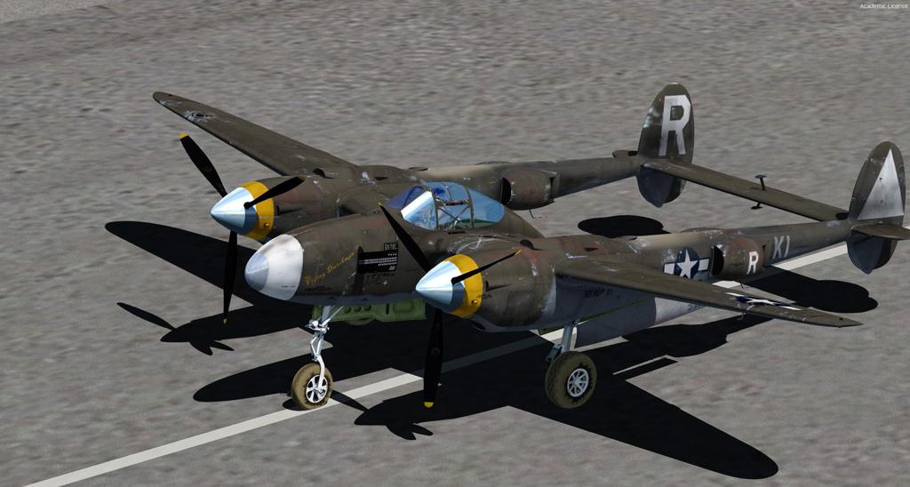 MilViz P38 Lightning
